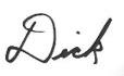 dick-signature