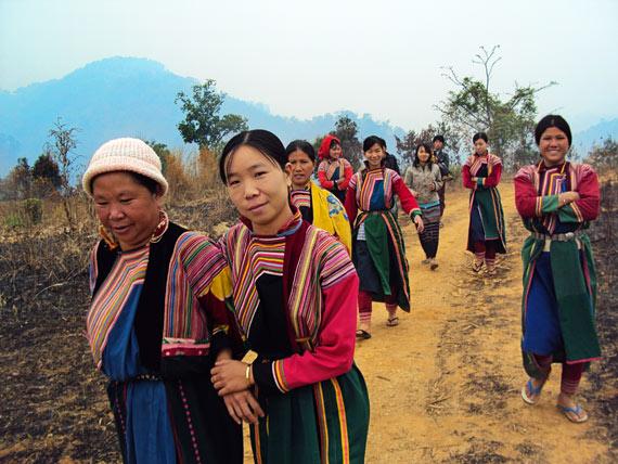 missionary-women-walking