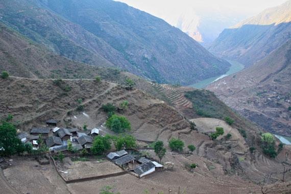 remote-mountain-village