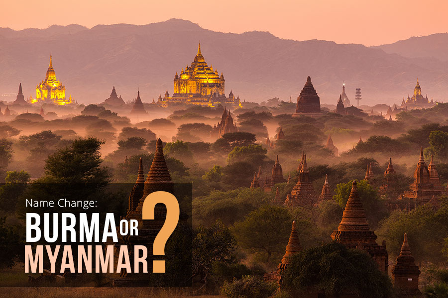Name change: Burma or Myanmar?