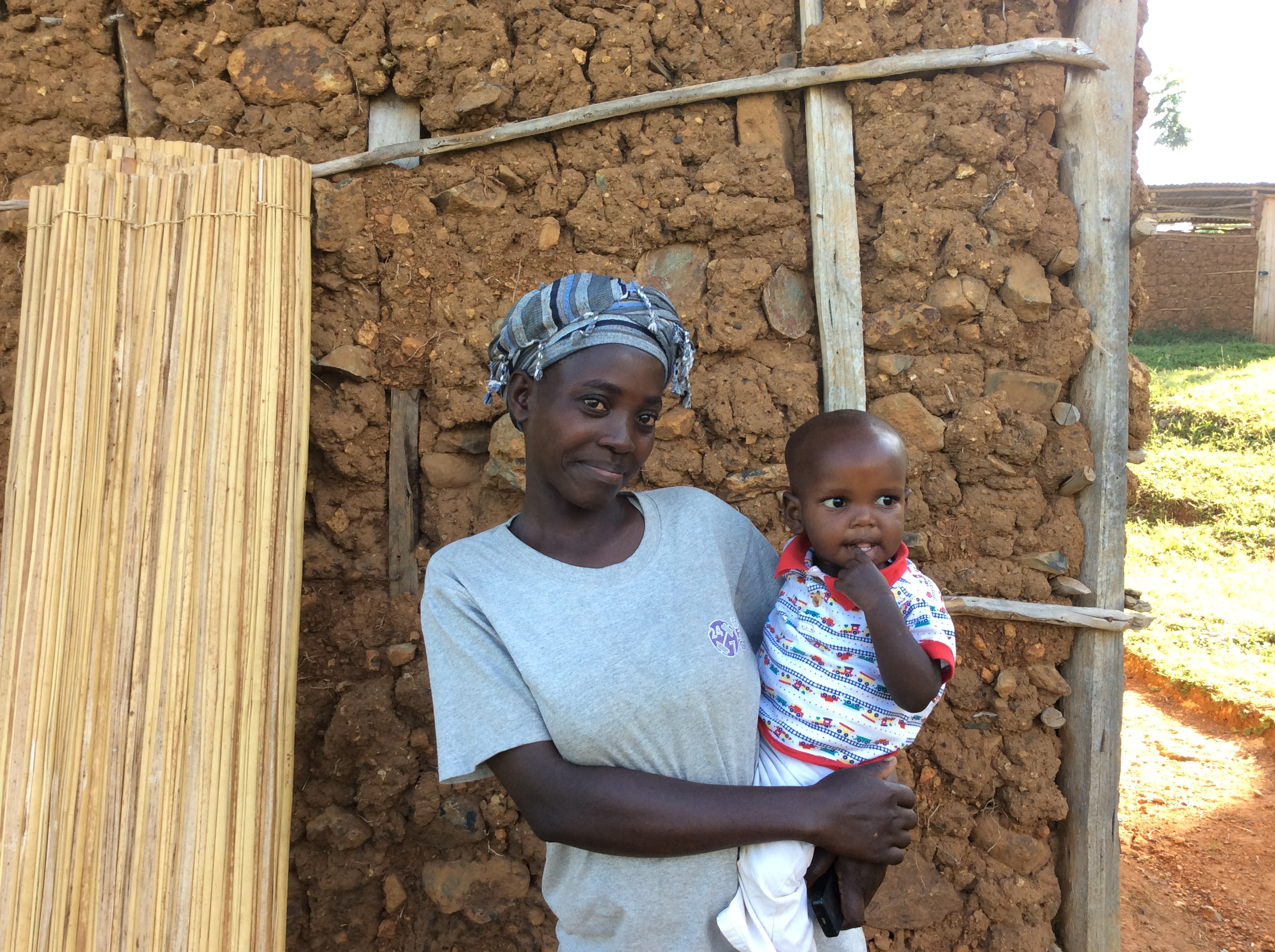 Picture of widow and child - for widows page | Heaven's Family