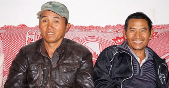 Two brothers among the A-Che people who were reached with the gospel