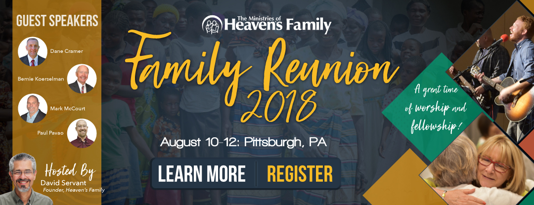 Banner for Family Reunion 2018