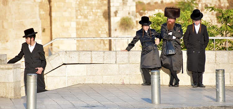 conservative jews in jerusalem, israel
