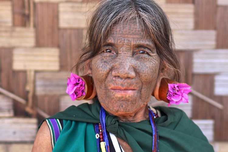 Woman in Chin State