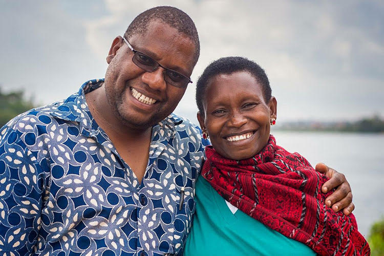 Fred and Judith, partners of the Victims of Sexual Violence Ministry of Heaven's Family