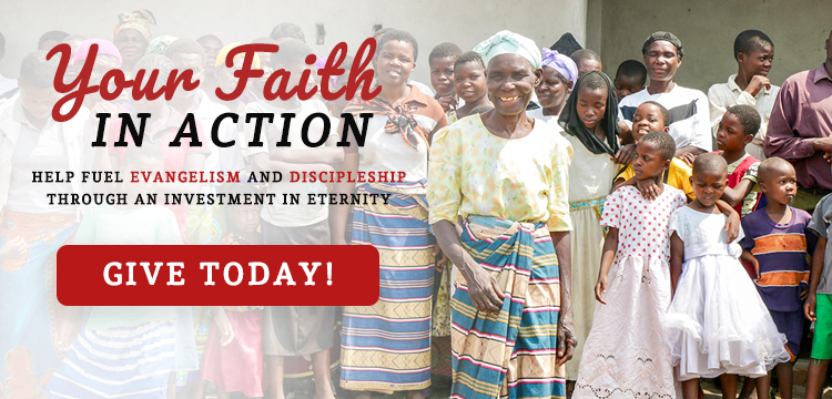 Give today to help fuel evangelism and discipleship!