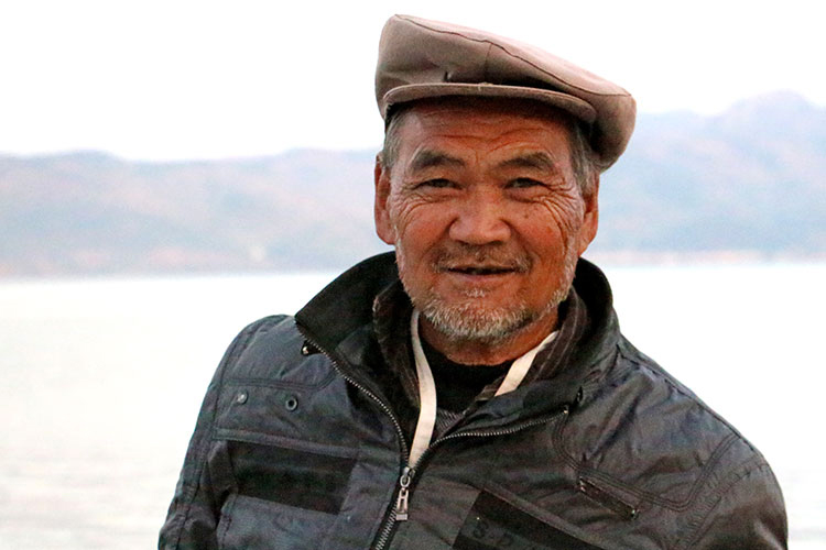 Mr. Cheng, from the A-Che tribe