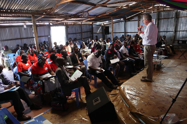 Picture of Microloan training in Kenya