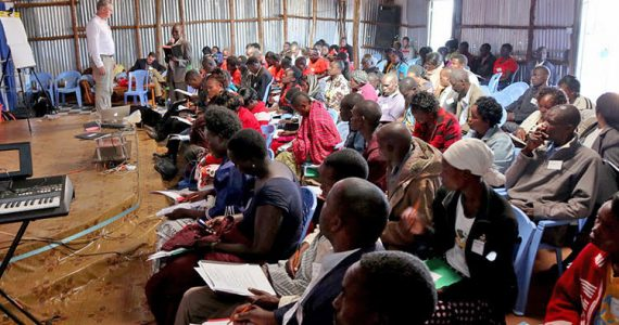 Small business training in Kenya