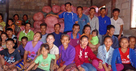 Villagers from Nakhaeng Village, Laos