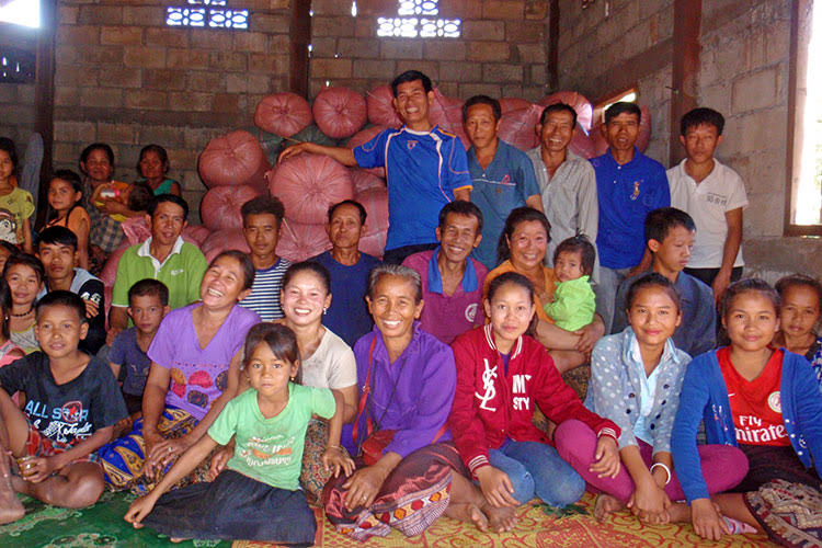 Villagers from Nakhaeng Village, Laos