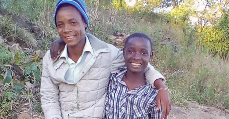 Samuel and Frank from Malawi