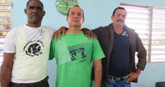 Picture of three friends participating in Teen Challenge program