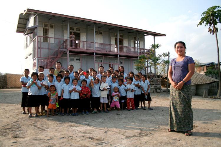 Children in Orphanage in Myanmar