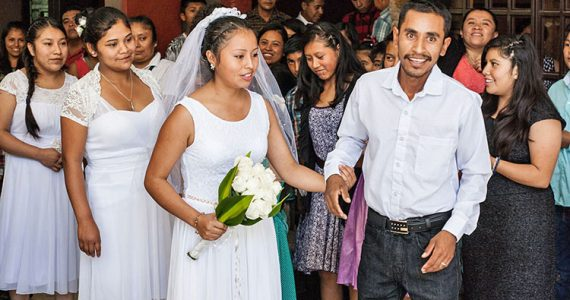 Picture of wedding in Mexico