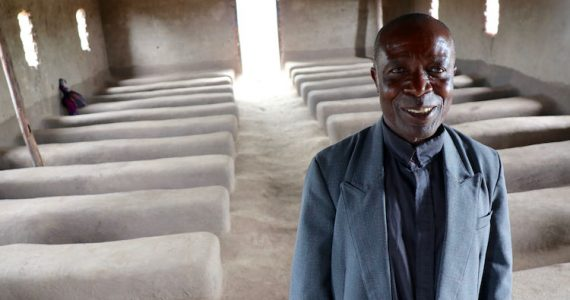 Picture of episcopal pastor and farmer in Malawi