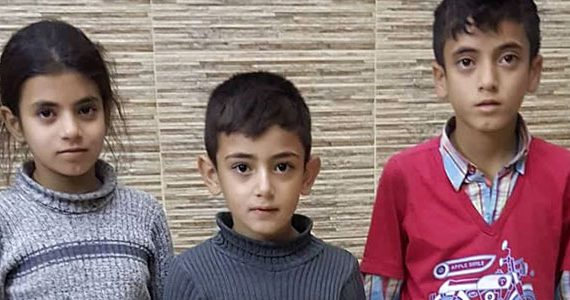 Picture of Syrian children