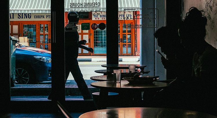 Representative picture of coffee shop in South Korea