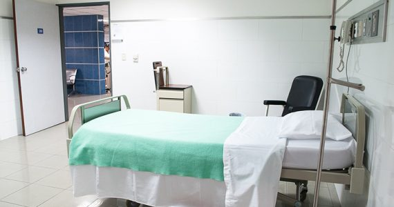 Representative Picture of hospital room in China