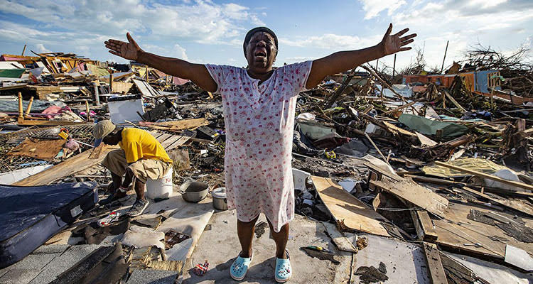 Picture of devastation from the Bahamas (Getty Images)