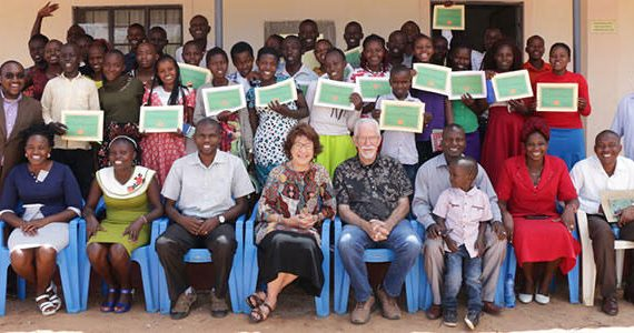 Picture of graduates of 2-day program in Kenya for ex-offenders