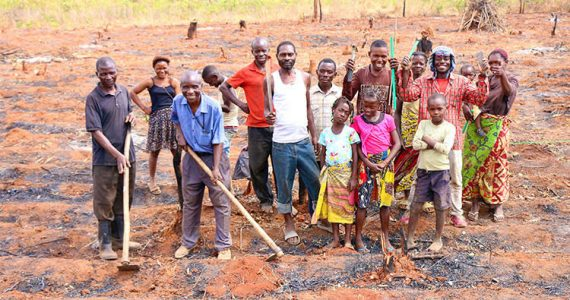 Picture of farmers in DR Congo