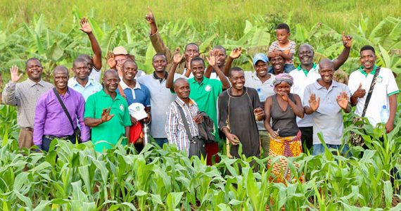 Picture of Farming God's Way farmers and trainers in Africa