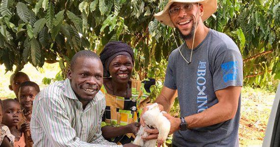 Picture of Farming God's Way farmer in Uganda