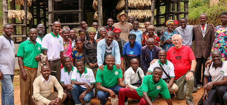 Picture of Farming God's Way God's Love Group in Rwanda, Africa