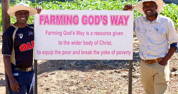 Picture of Farming God's Way trainers in Zimbabwe