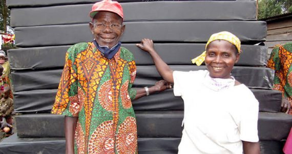 Picture of leprosy-affected patients in Goma